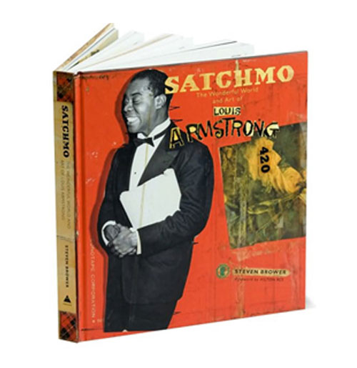 Louis Armstrong Boek - Satchmo The Wonderful World and Art of....