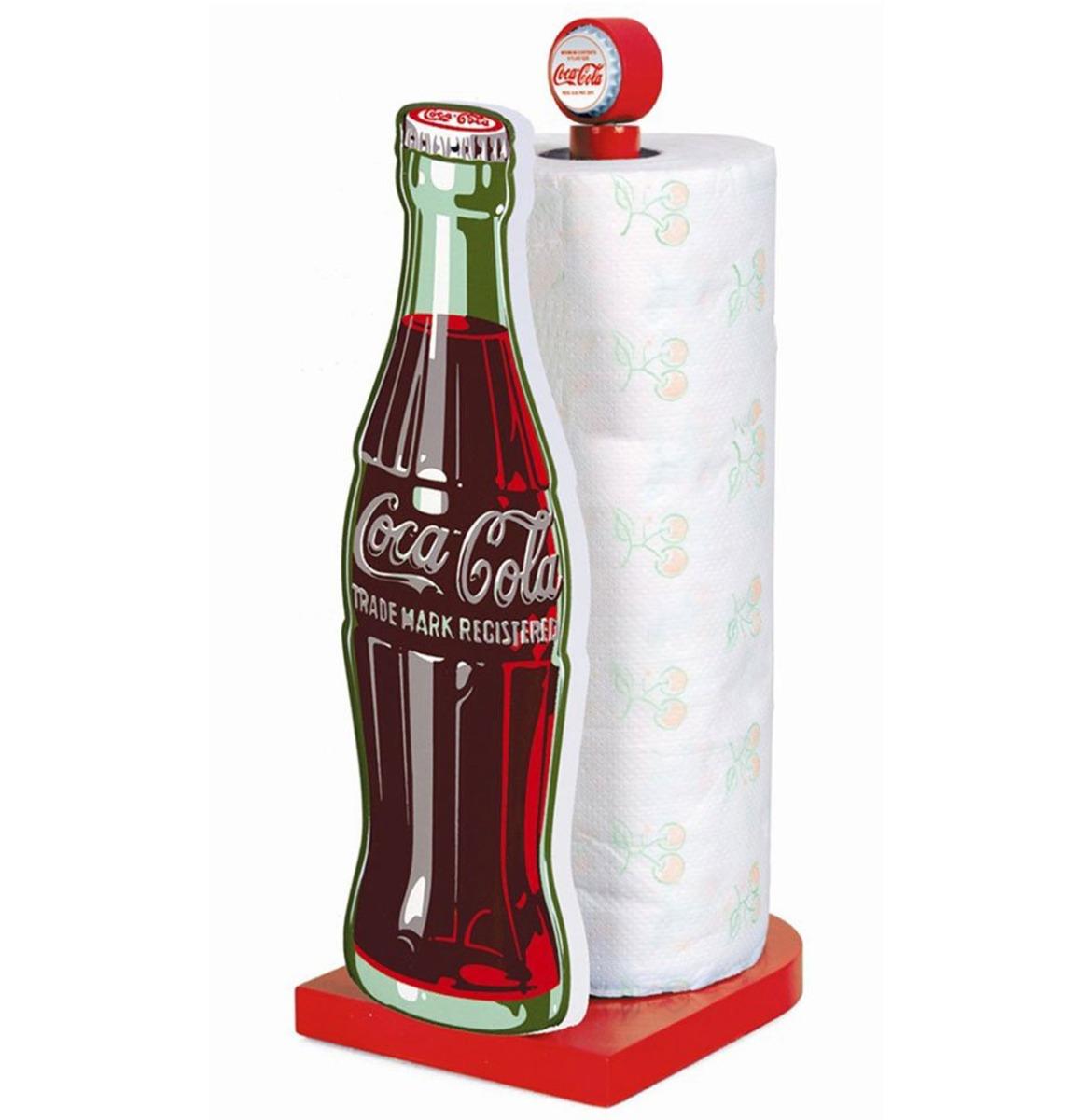 Coca-Cola Flesje Keukenrol Houder