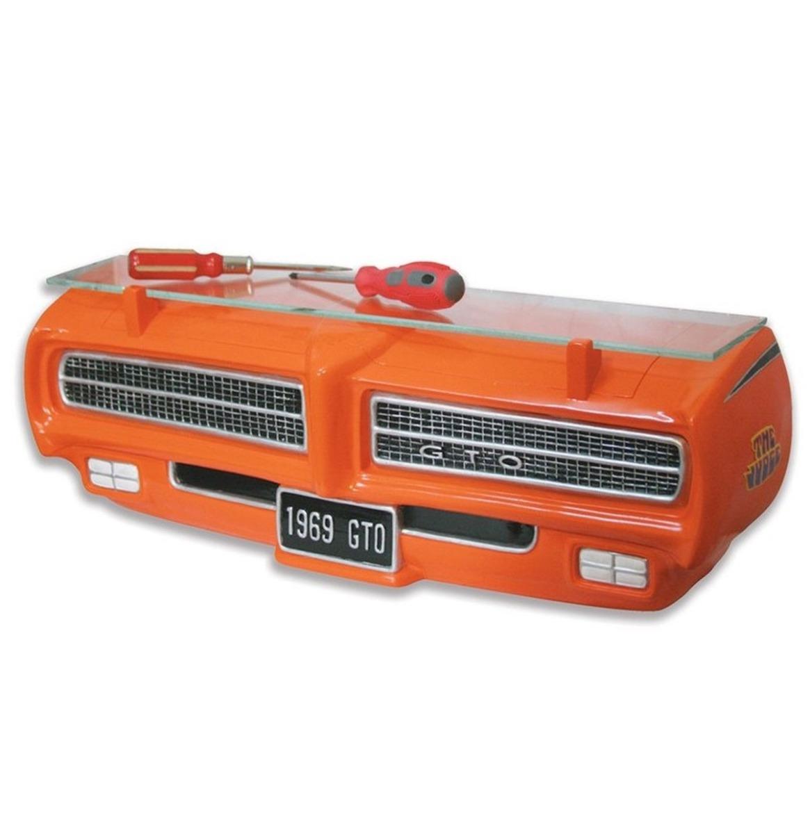 1969 Pontiac GTO The Judge Neus Als Muurplank Oranje