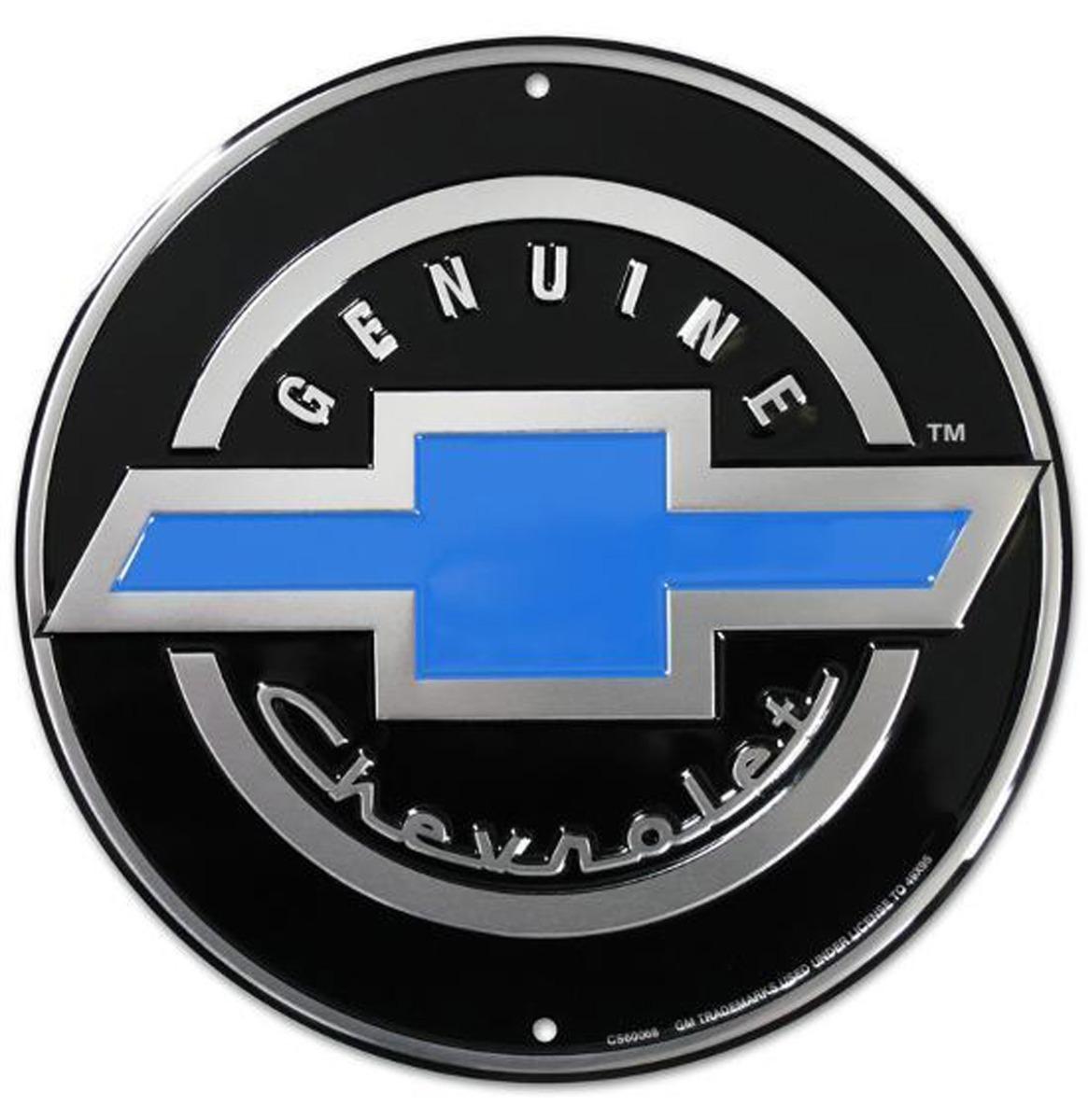 Genuine Chevy Chevrolet Metalen Bord 60 cm