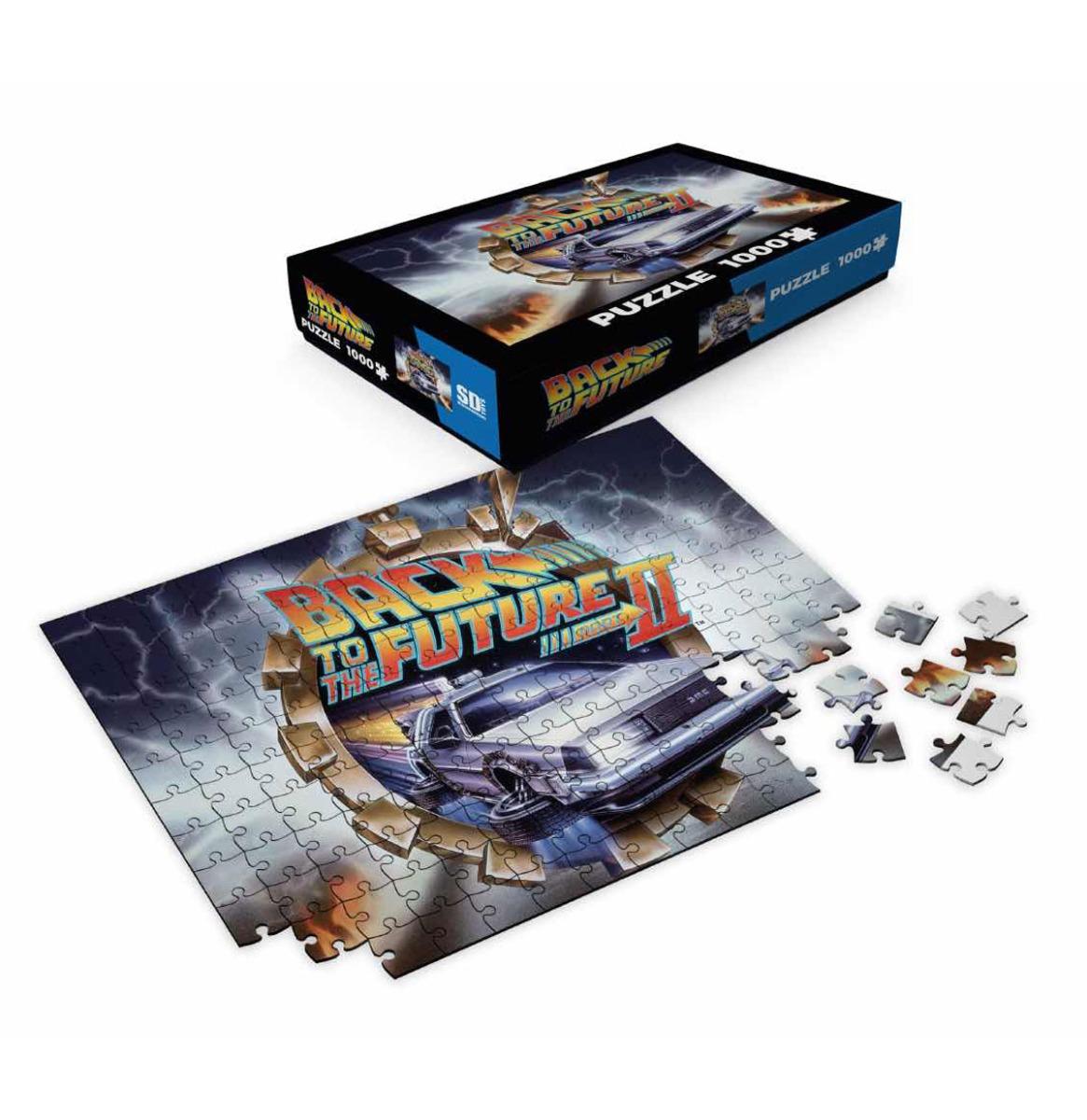 Back to the Future 2: Delorean 1000 Stukjes Puzzel