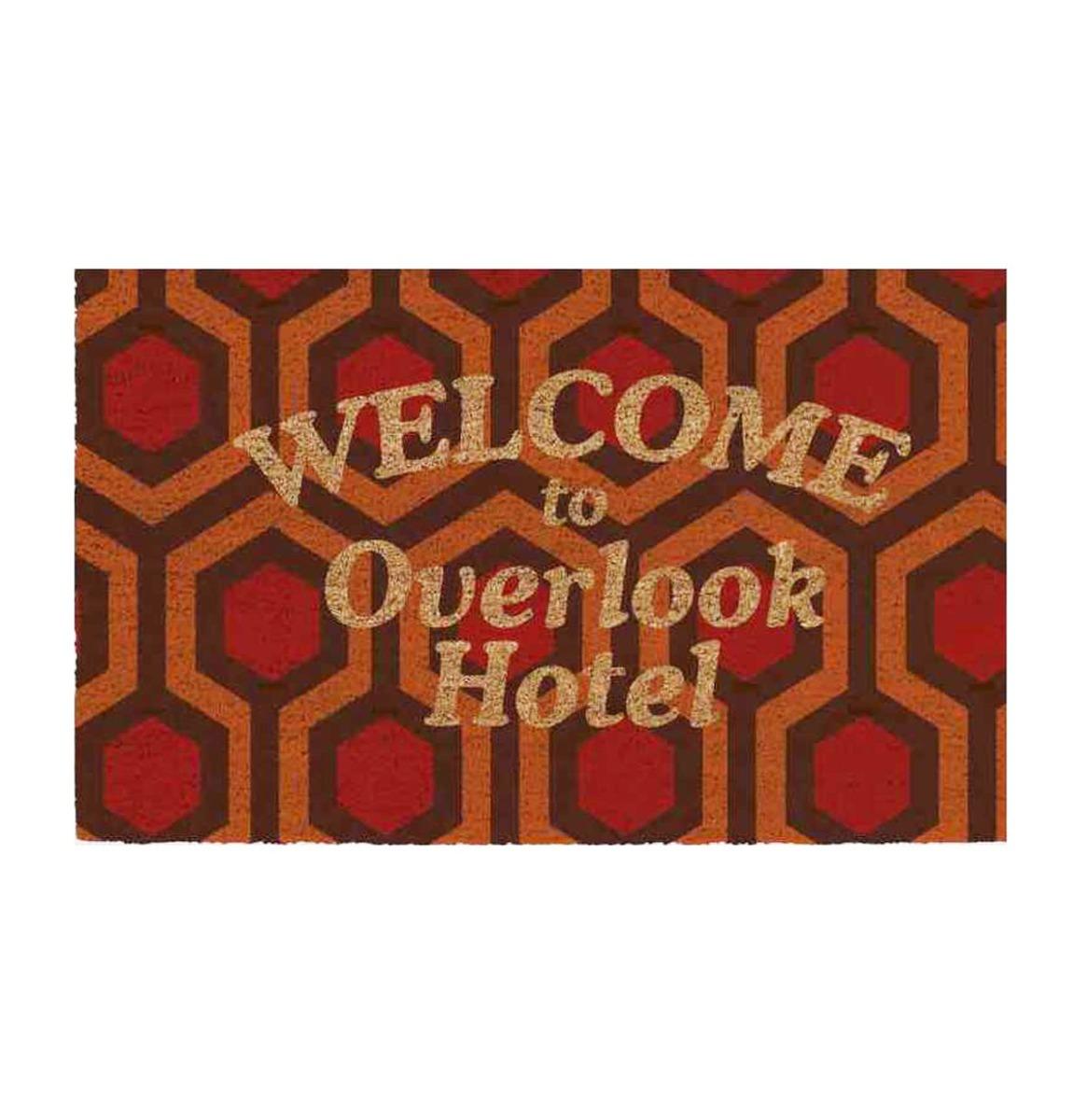 Fiftiesstore The Shining: Welcome to Overlook Hotel 60 x 40 cm Deurmat