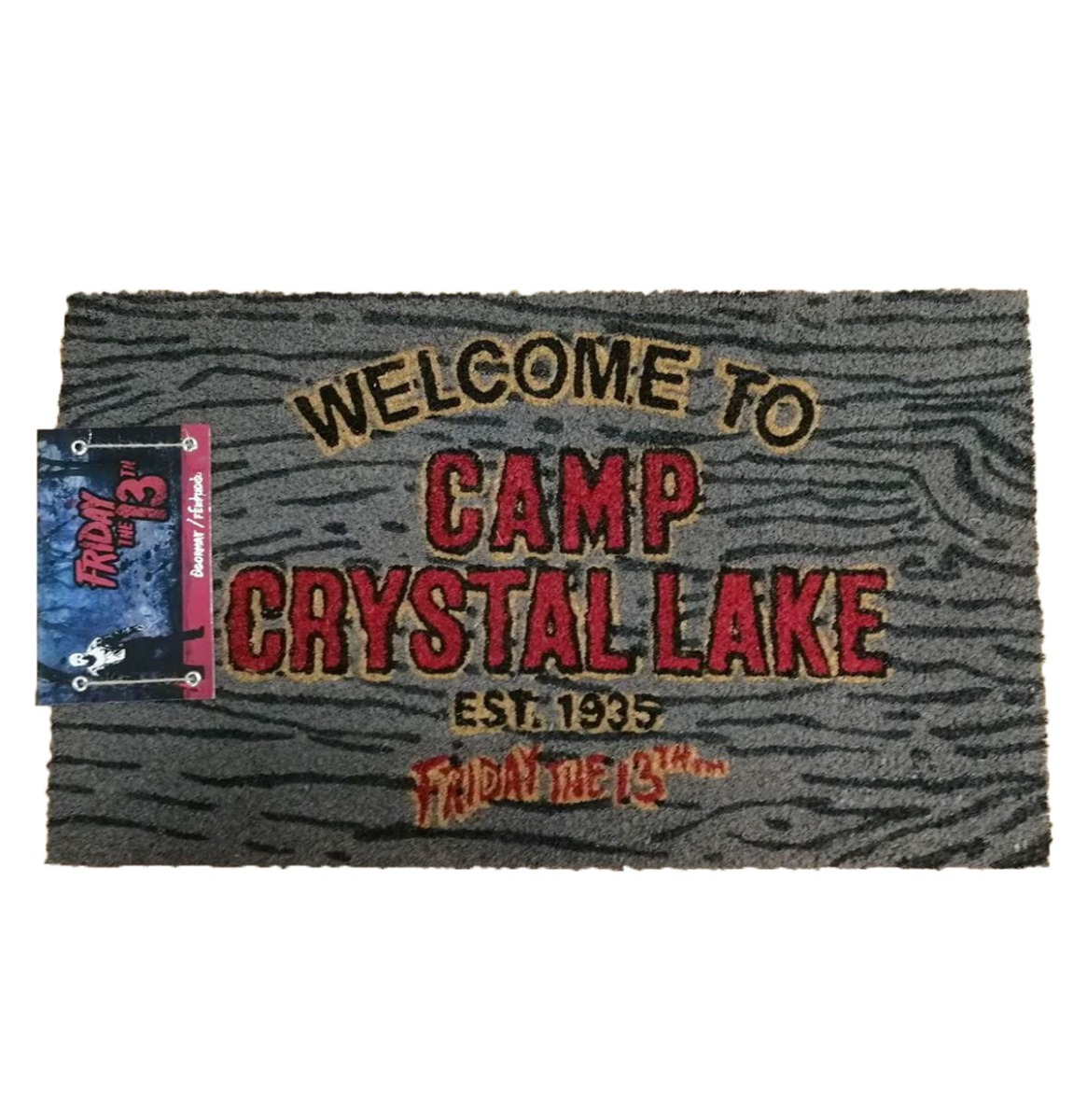Fiftiesstore Friday the 13th: Welcome to Camp Crystal Lake 60 x 40 cm Deurmat