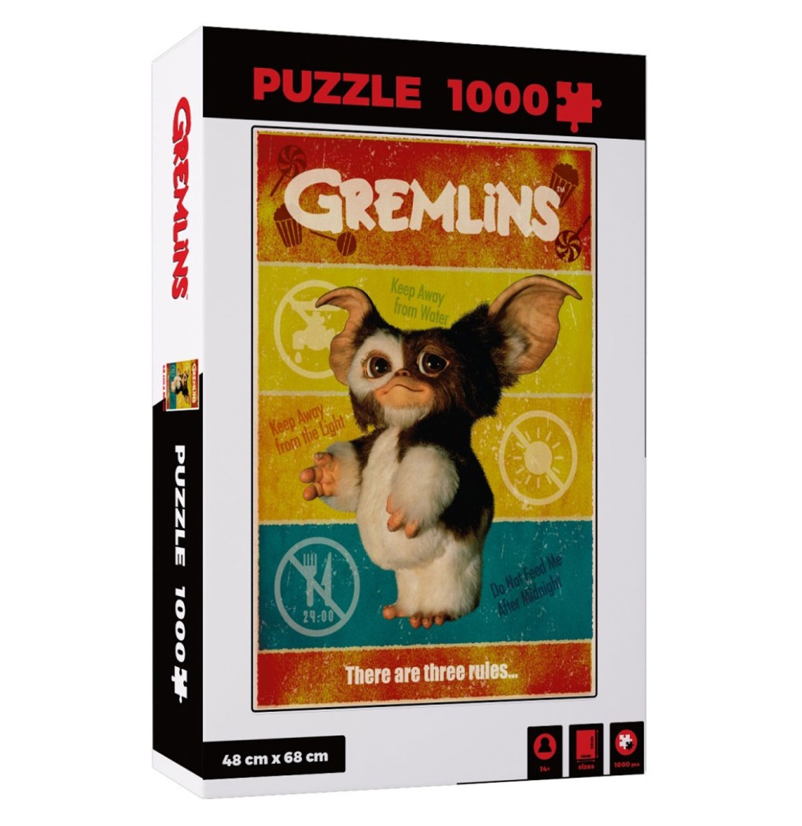 Gremlins: There Are Three Rules 1000 Stukjes Puzzel