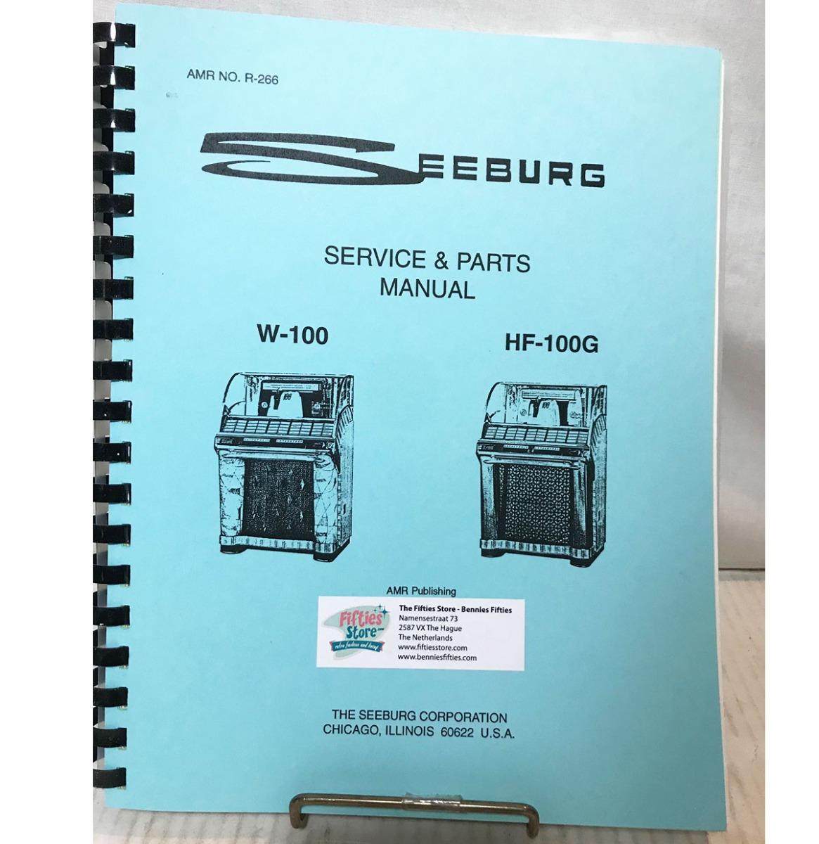 Service Manual - Seeburg Jukebox Model W-100 & HF-100G