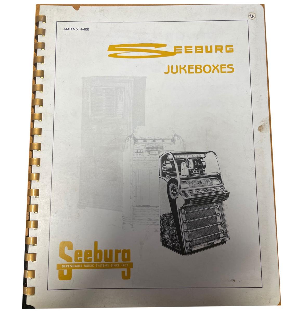 Seeburg Jukeboxes Boek Pre-Owned