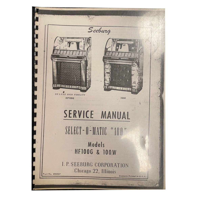 Manual Seeburg G En W Jukebox Manual Kopie