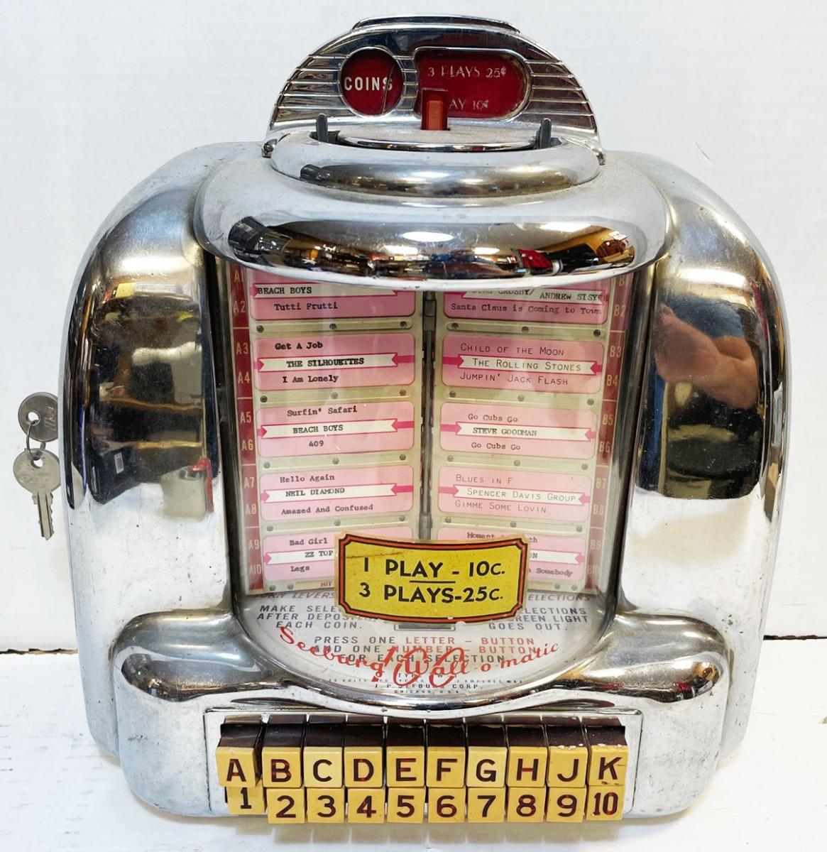Seeburg 3W1 Originele Wallbox 1948-1954