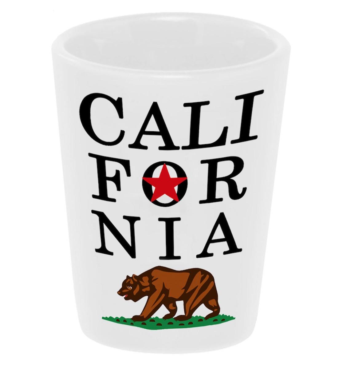 Shot Glass Keramiek California Beer