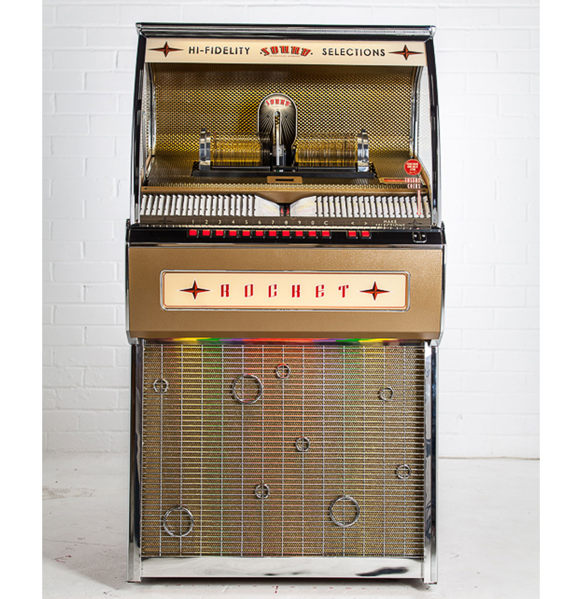 Rocket 80 CD Jukebox Sound Leisure 80 CD en Bluetooth - Eiken