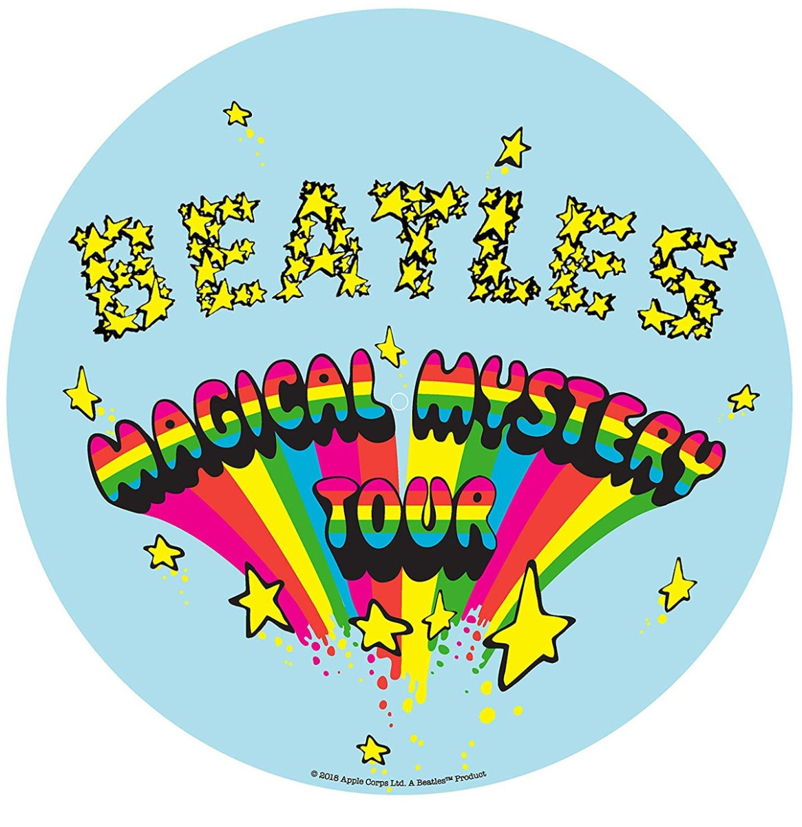 Crosley Slip Mat The Beatles Magical Mystery Tour Vilt