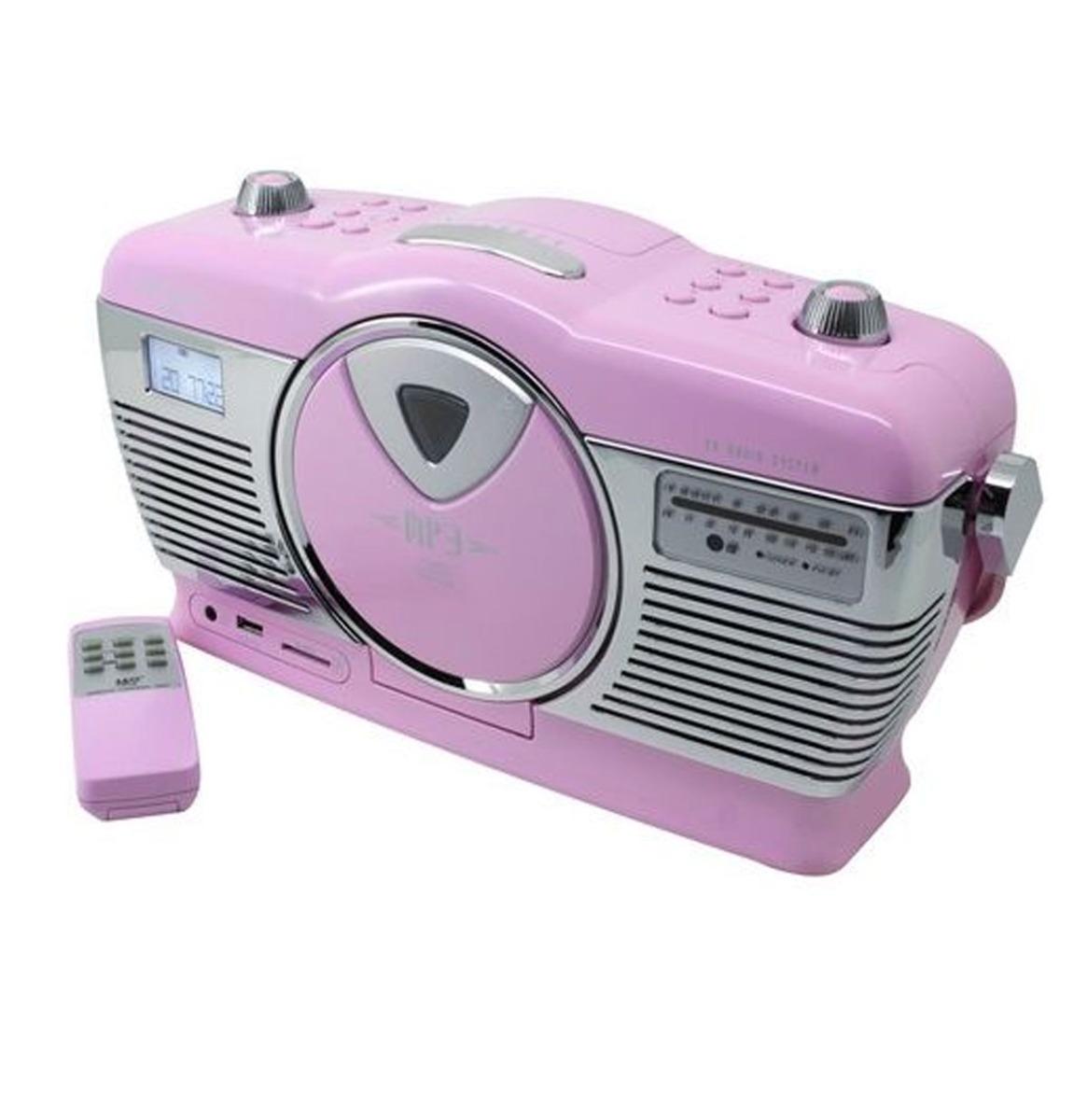Soundmaster Retro Radio - Met CD Speler En USB/SD Aansluiting