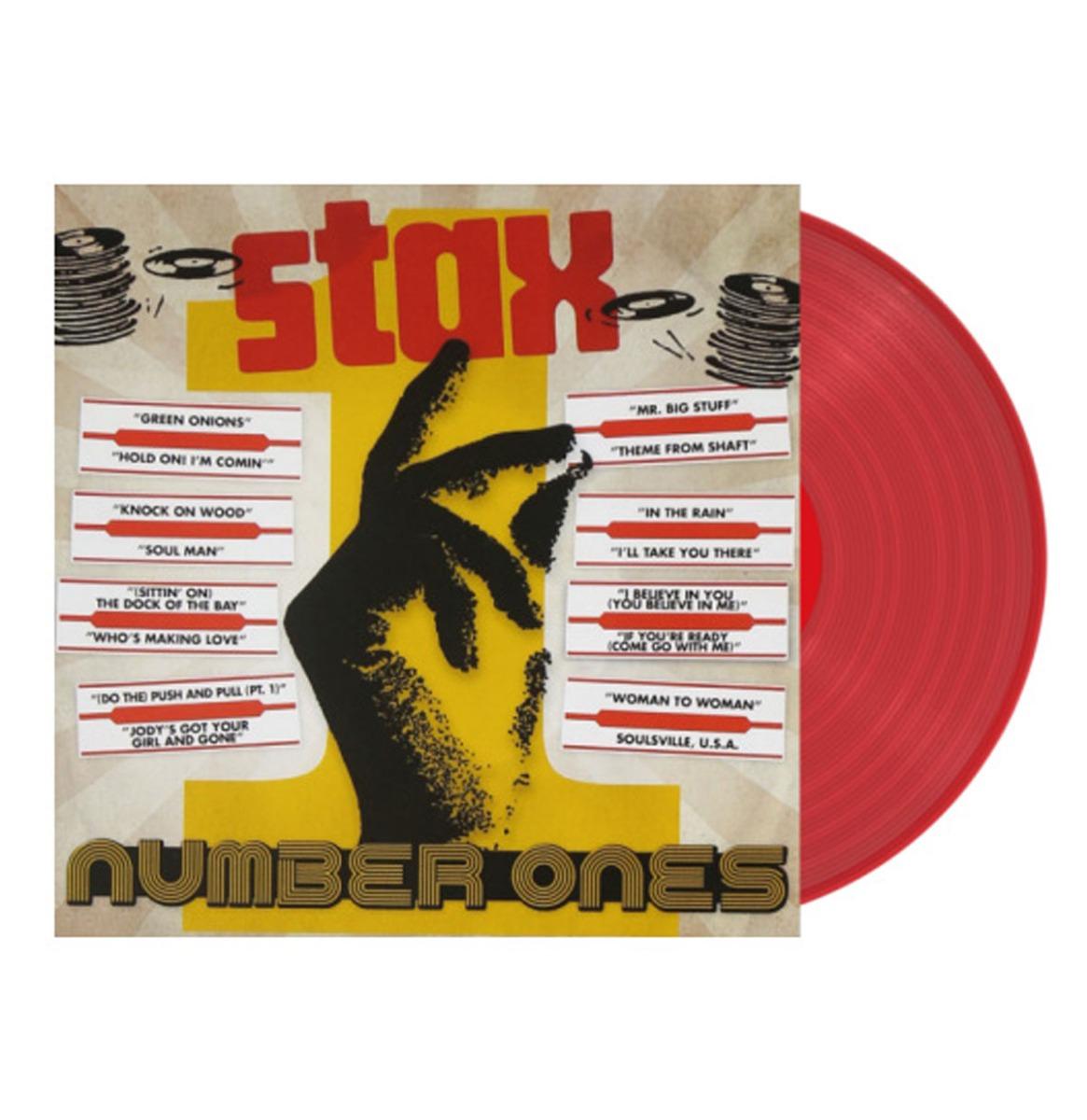 Various Artists - Stax Number Ones LP GELIMITEERDE OPLAGE Rood Vinyl