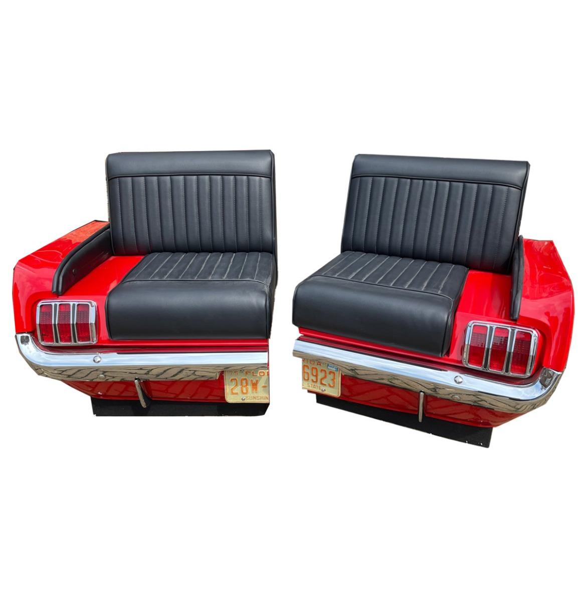 1965 Ford Mustang Seats (set van 2) - Van Een Echte Auto