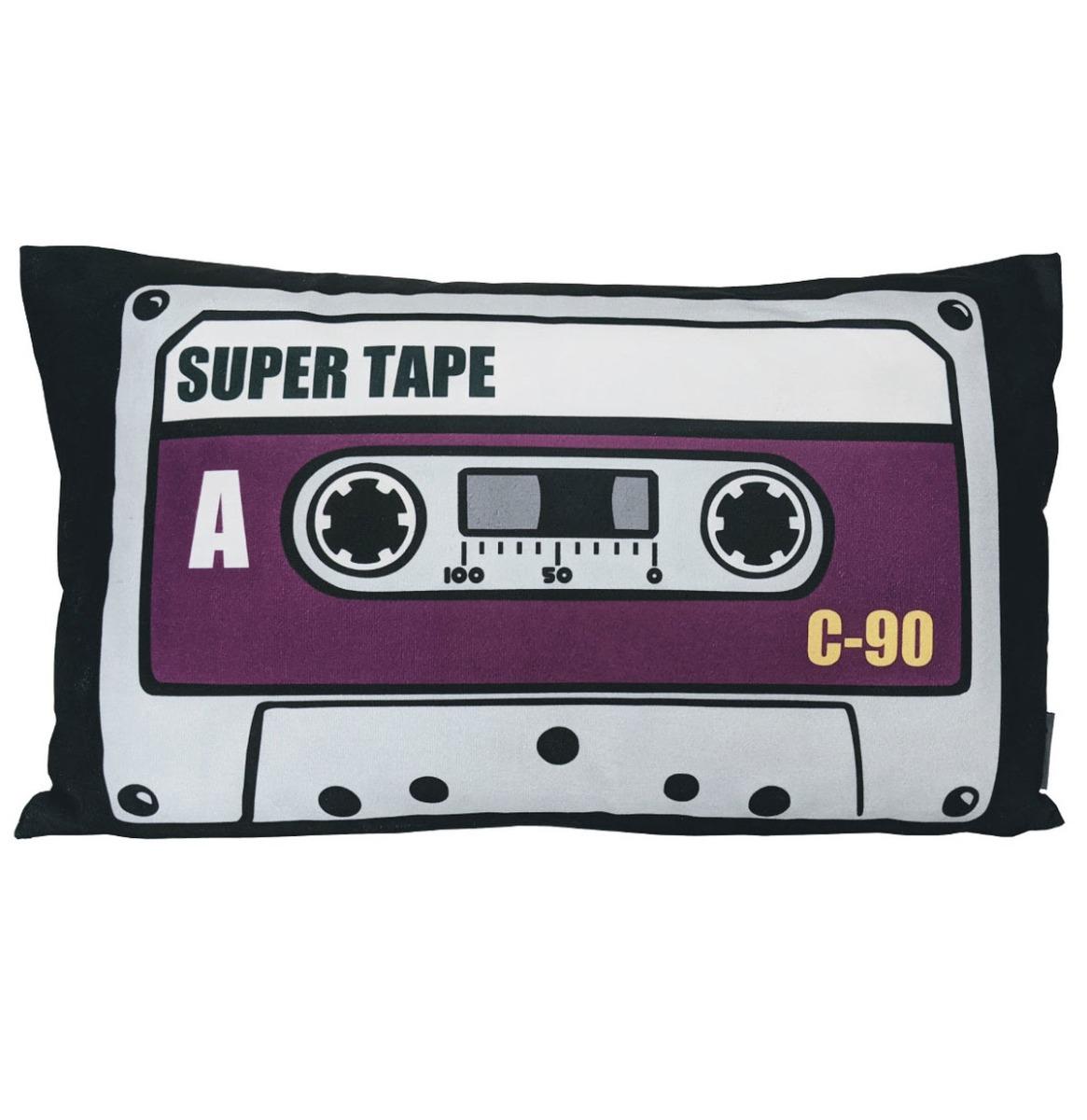Super Tape Cassette Paars Fluwelen Kussen