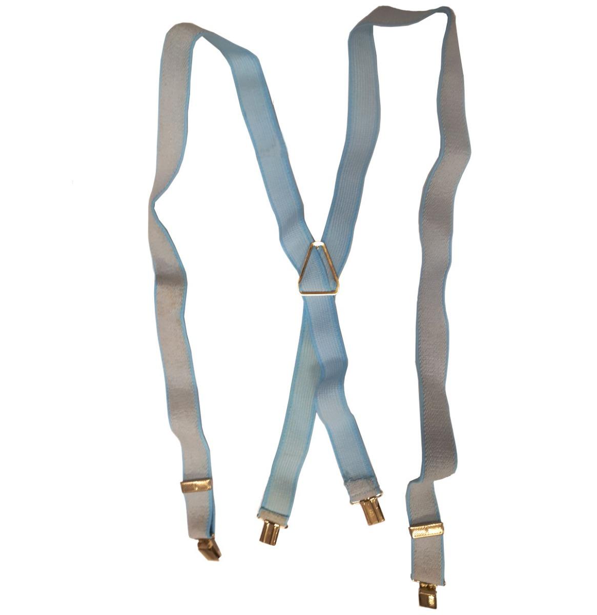 Stretch Bretels One Size Blauw - Zand