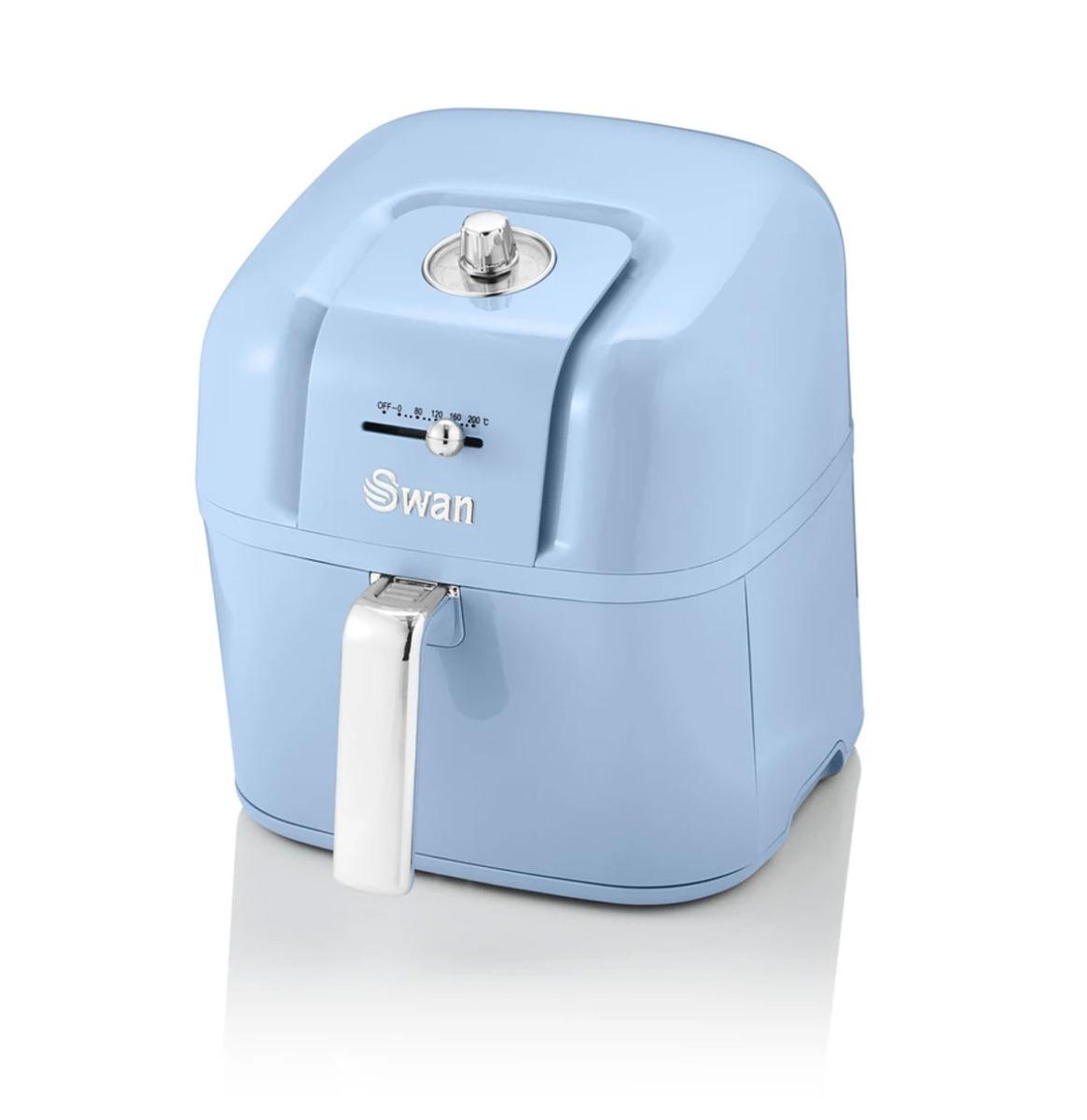 Swan Retro 6 Liter AirFryer Blauw