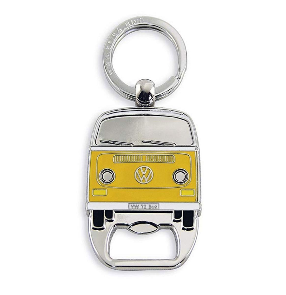 VW Volkswagen T2 Sleutelhanger En Flessenopener Geel