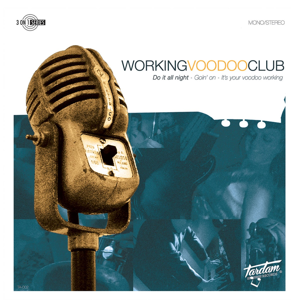 """Working Voodoo Club - Do It All Night 7"""" EP"""