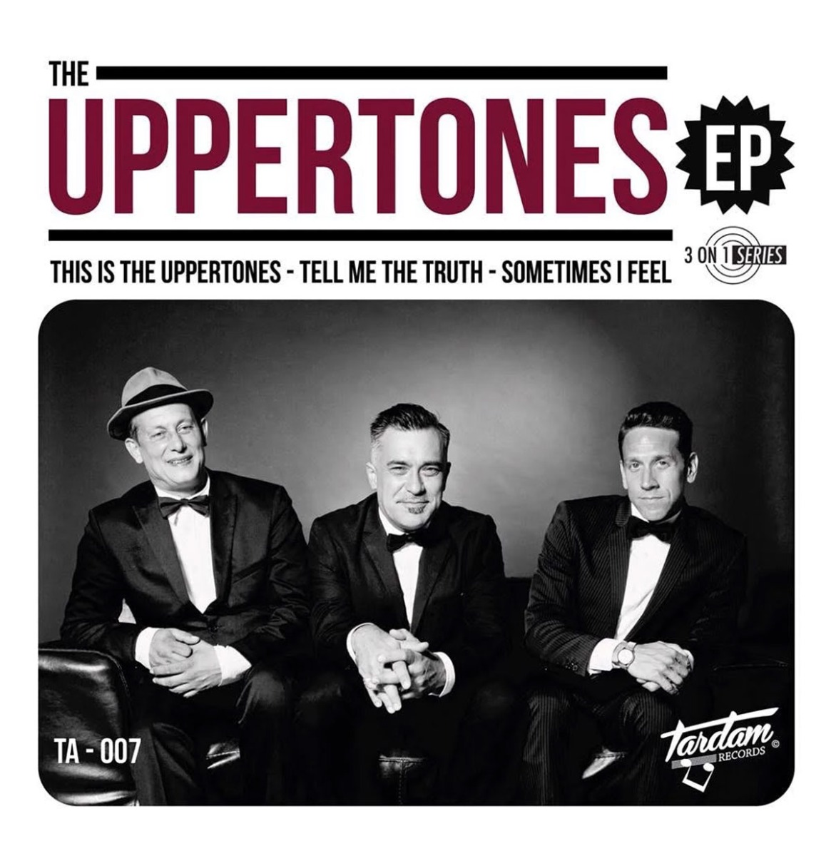 """The Uppertones - This Is The Uppertones 7"""" EP"""