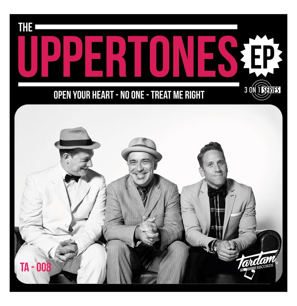 """The Uppertones - Open Your Heart 7"""" EP"""