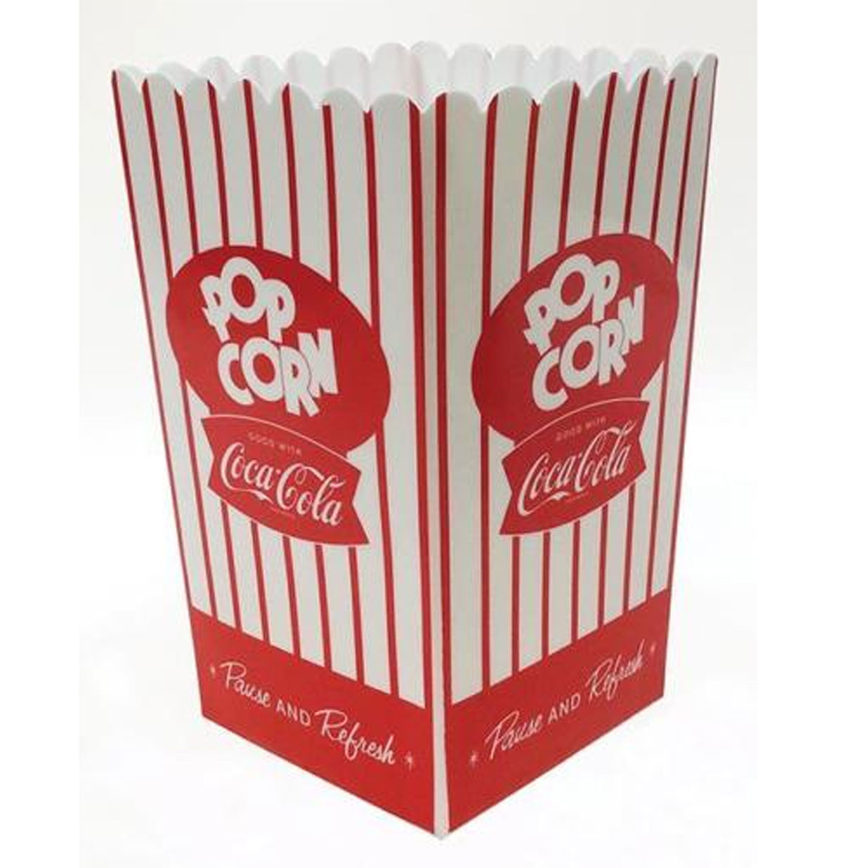 Coca-Cola Large Popcorn Bucket Plastic