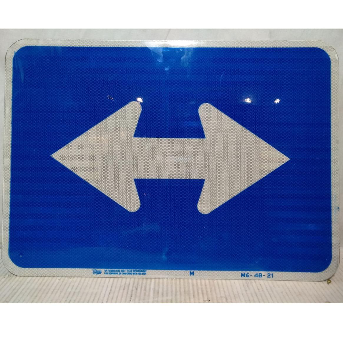 2 Way Straat Bord