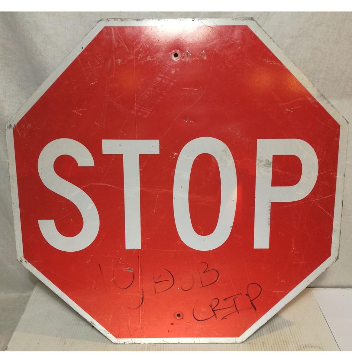 Stop Straat Bord - Origineel