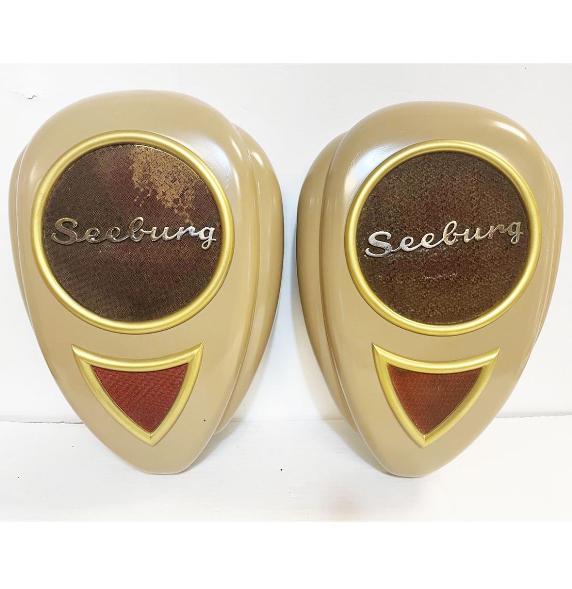 Originele Seeburg Teardrop Speakers - SET van 2