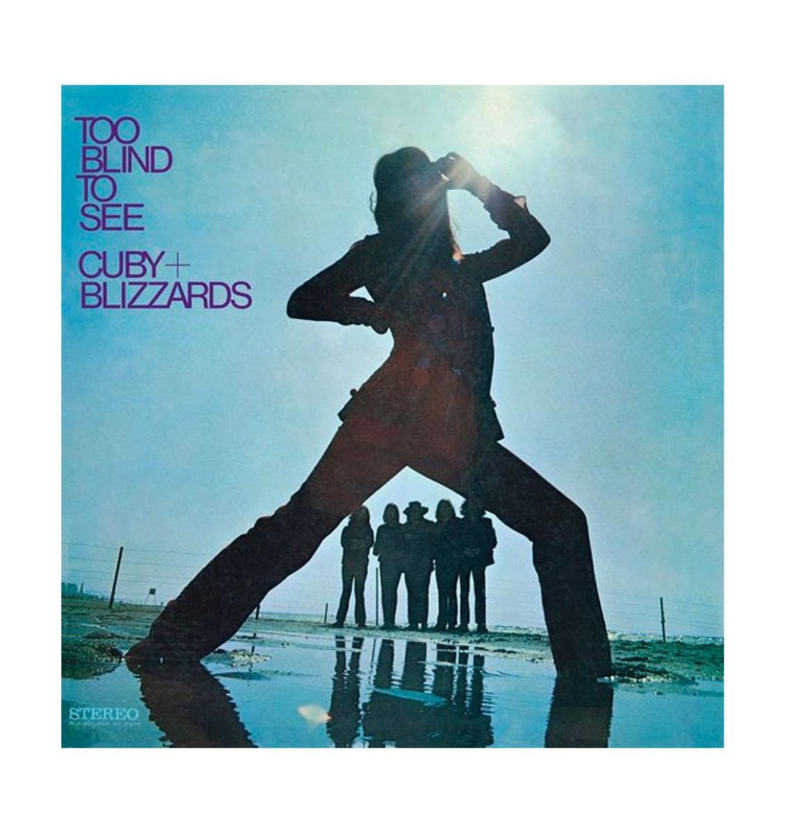 Too Blind To See - Cuby + Blizzards Beperkte Oplage Paars Vinyl
