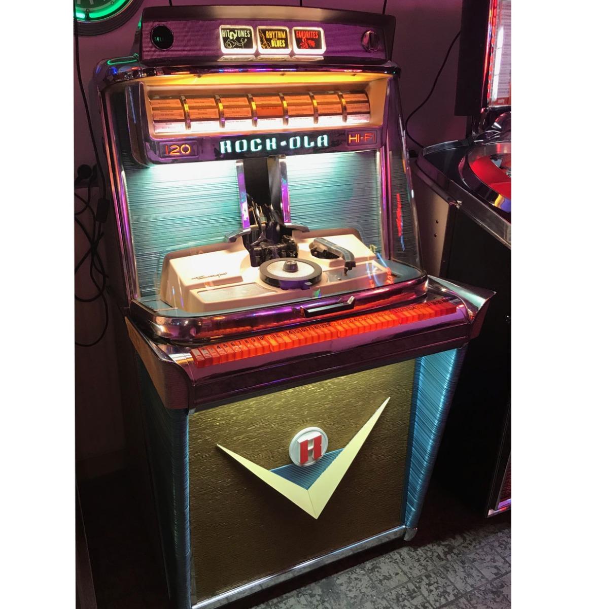 Rock-Ola 1468 Tempo 1 Jukebox 120 - Gerestaureerd