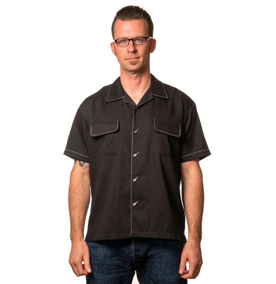 The Musician Shirt Black