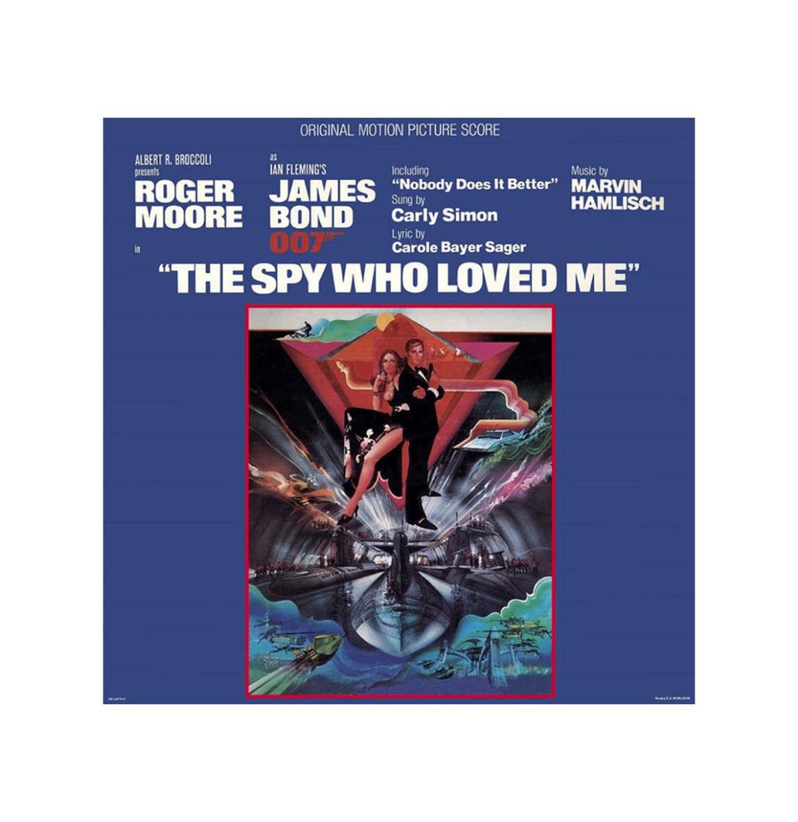 Soundtrack James Bond - The Spy Who Loved Me - LP
