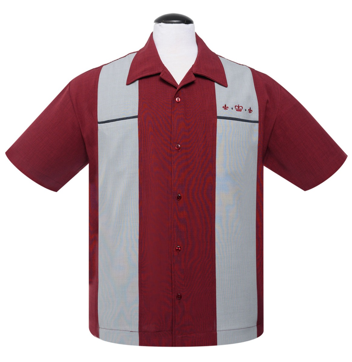 The Regal Shirt Burgundy