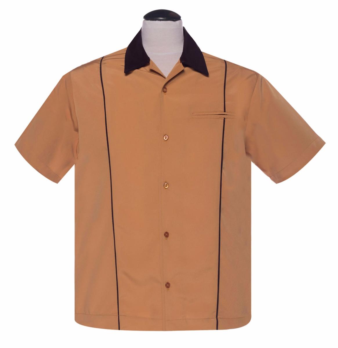 Classic Shirt The Shuckster Mustard