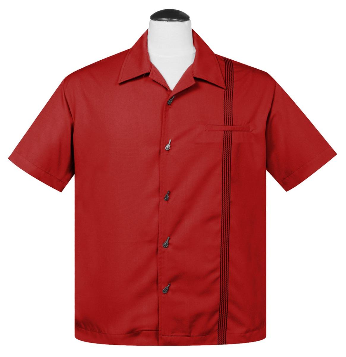 Six String Shirt Red