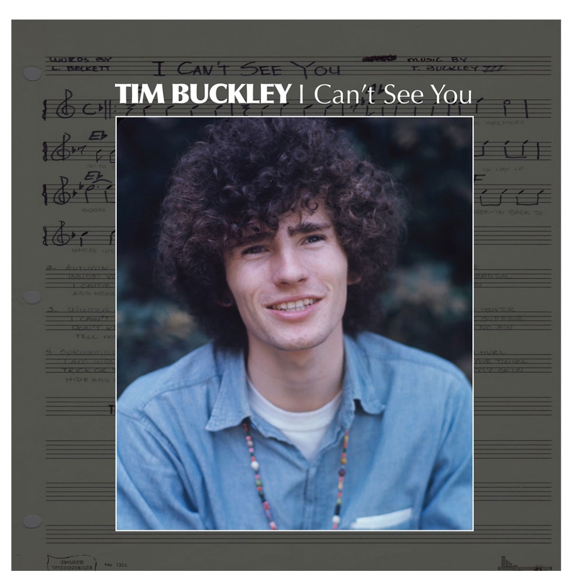 """Tim Buckley - I Can't See You 1966 Demos LP 12"""""""