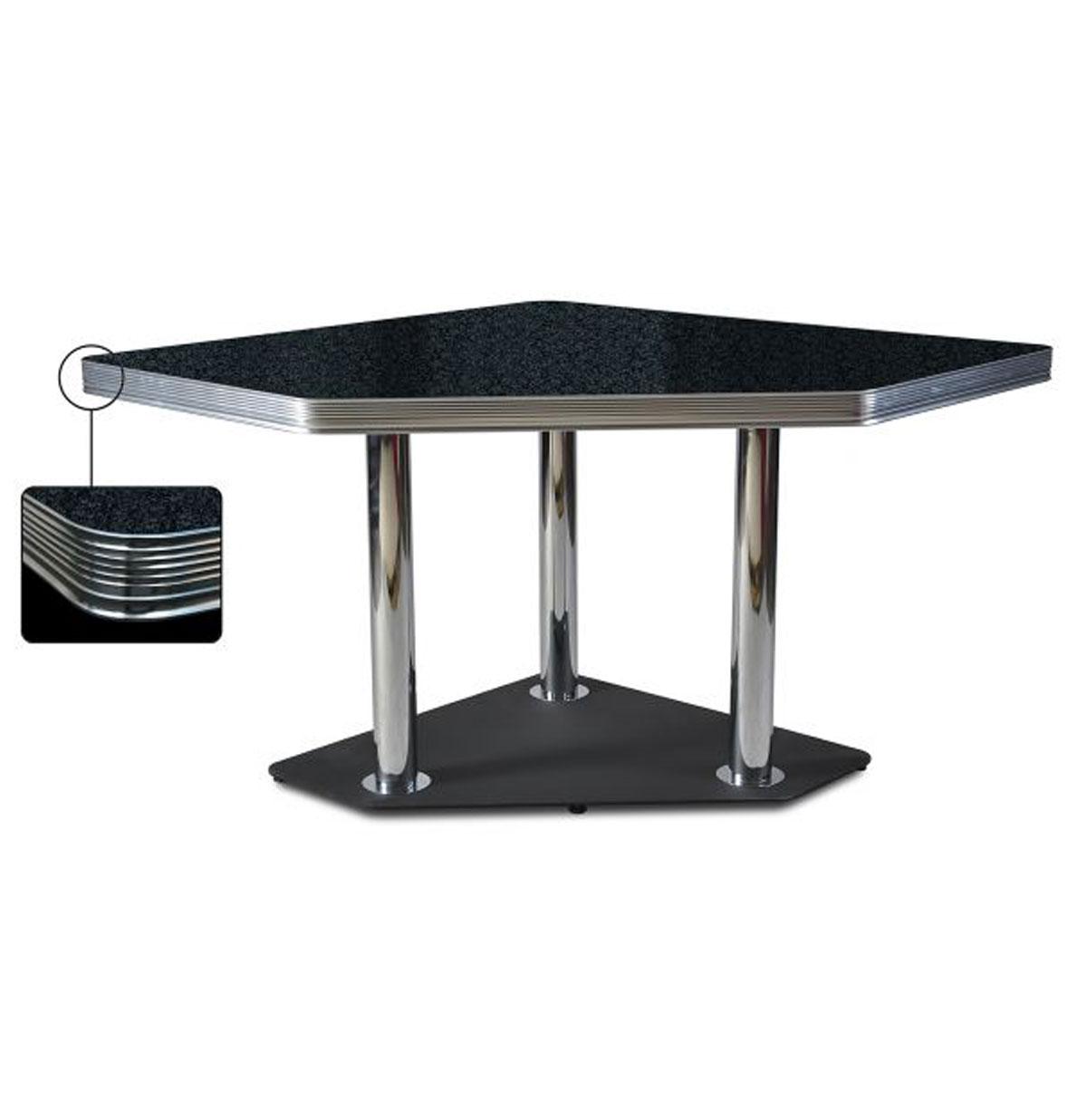 Diner Tafel TO-30 Blackstone