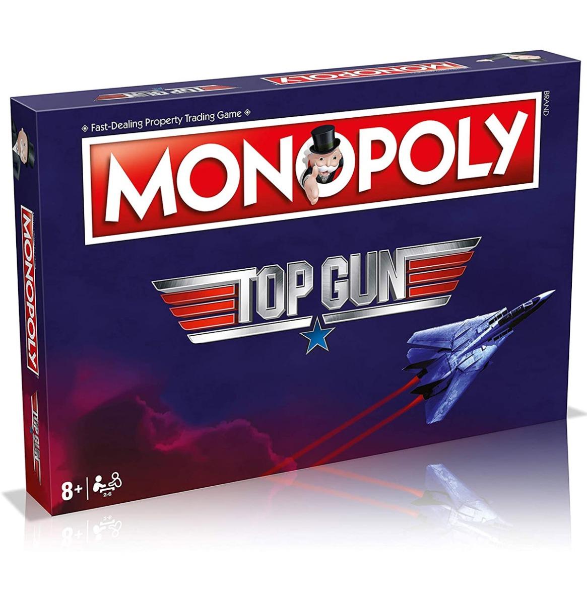 Officiele Top Gun Monopoly