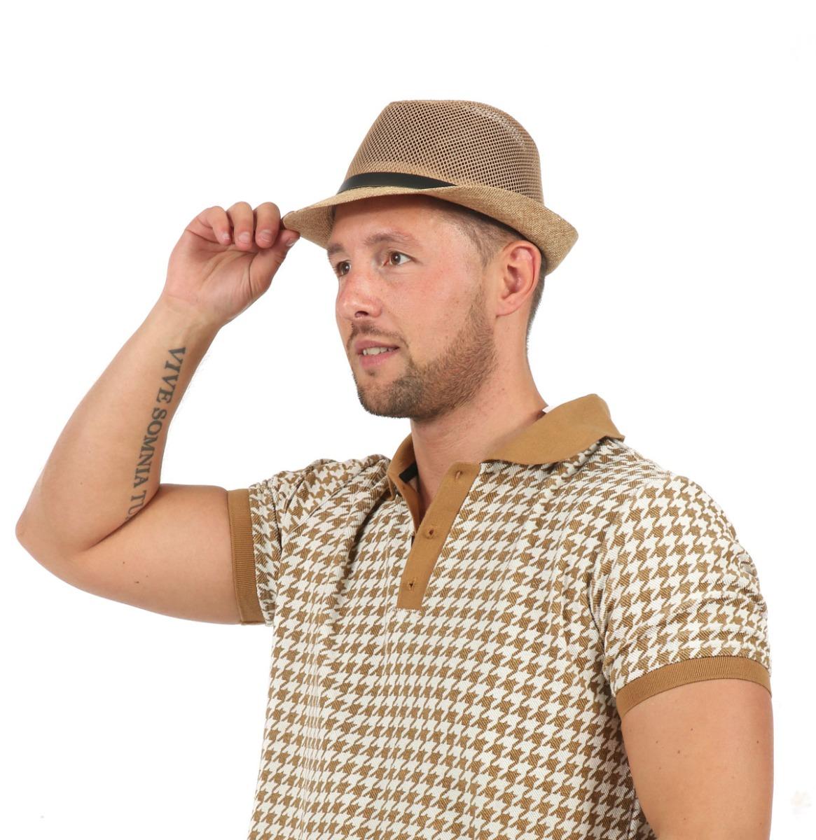 Men's Hat Beige