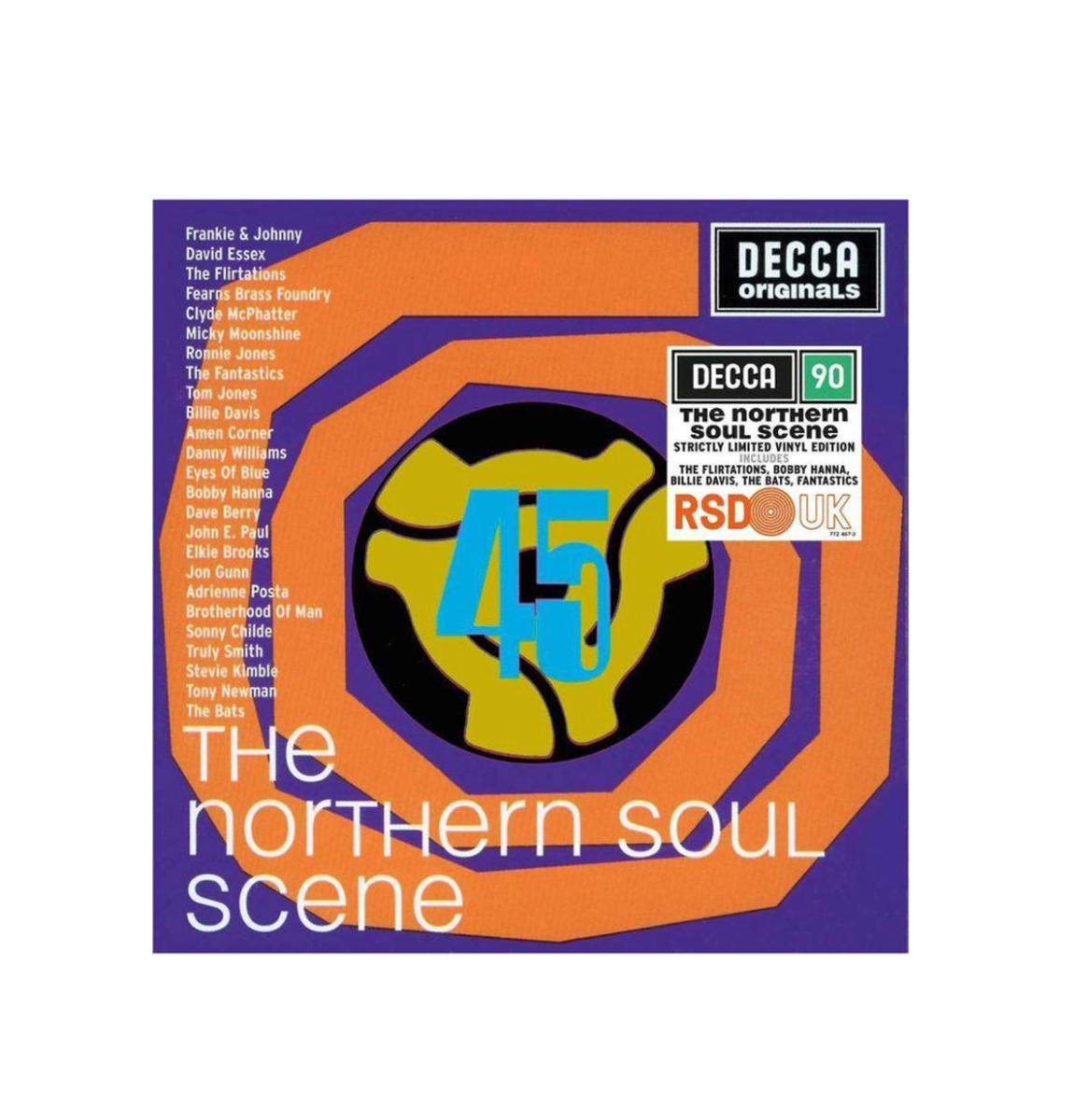 Various Artists - The Northern Soul Scene Strictly Limited Vinyl Edition 2 LP