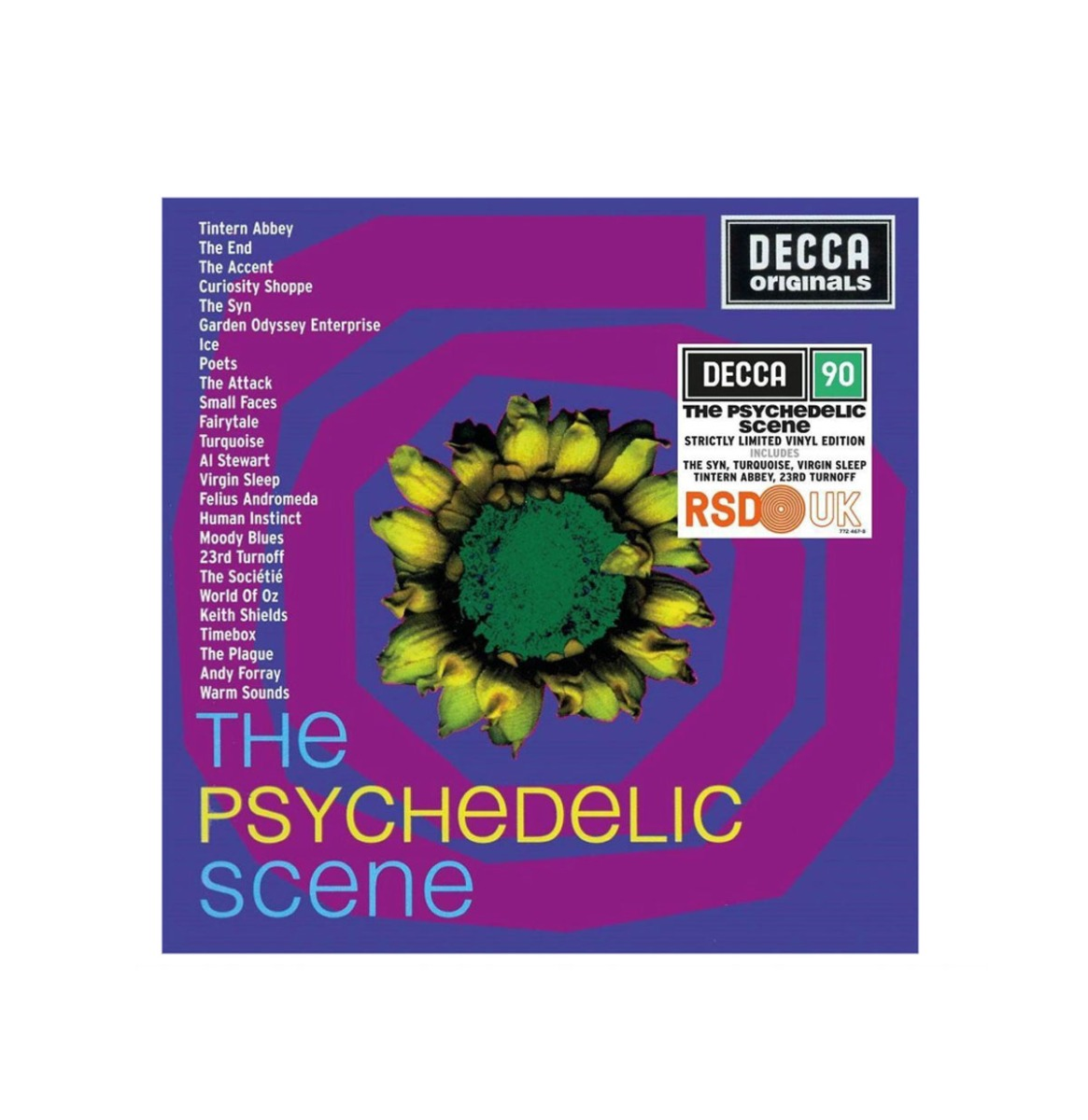 Various Artists - The Psychedelic Scene Strictly Limited Vinyl Edition 2 LP