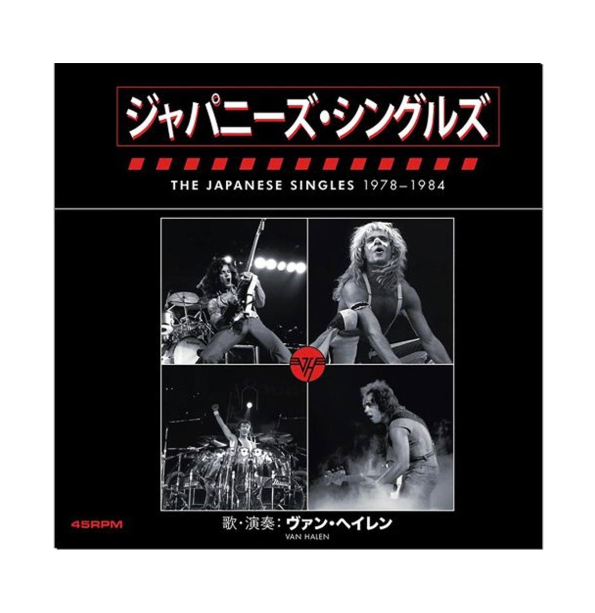 "GELIMITEERDE EDITIE Van Halen - The Japanese Singles 1978 - 1984 Box van 13 Singles 7"""