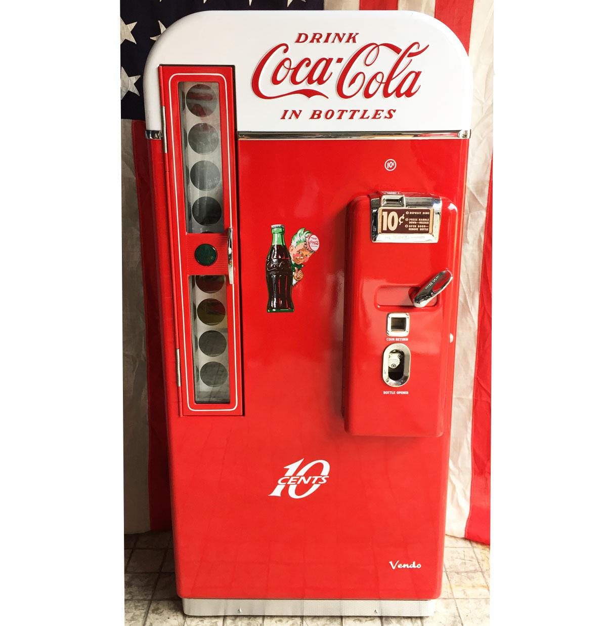 Coca-Cola Vendo 81 gerestaureerde Coke Flesjes Machine (Beschikbaar Mei 2018)