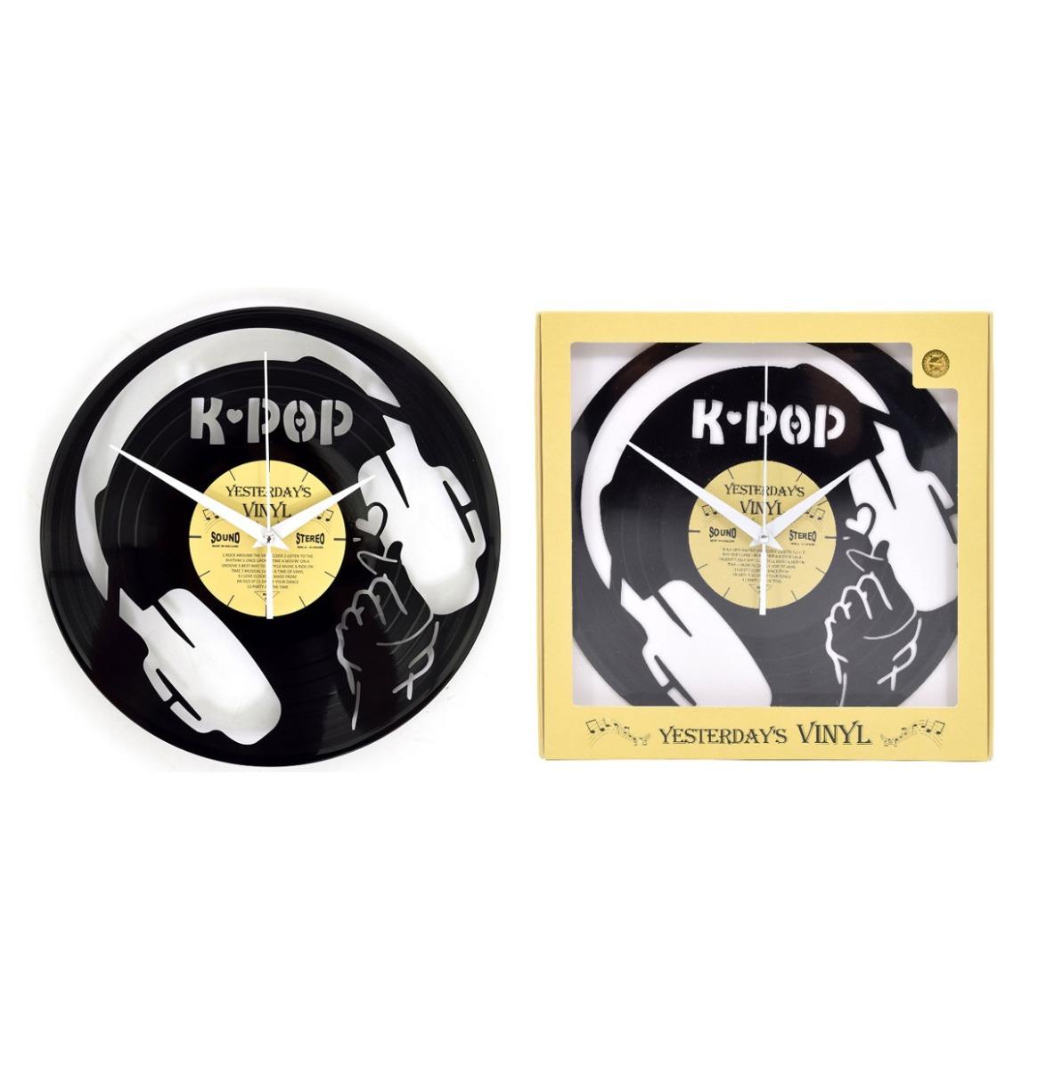 Vinyl Klok K-pop - Gemaakt Van Een Gerecyclede Plaat
