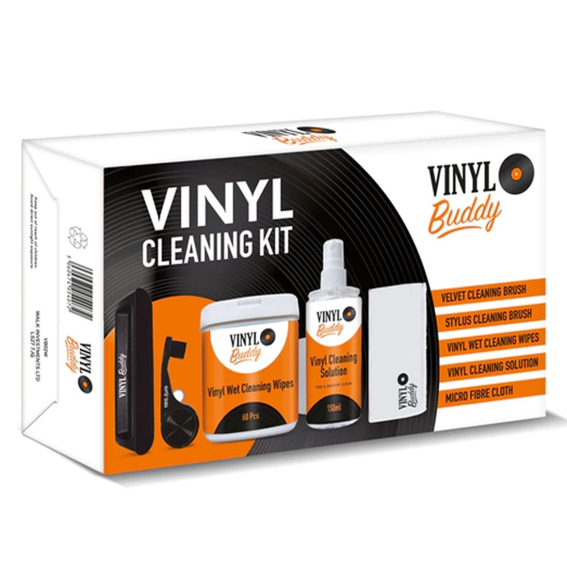 Vinyl Buddy 5 Delige Vinyl Schoonmaakset