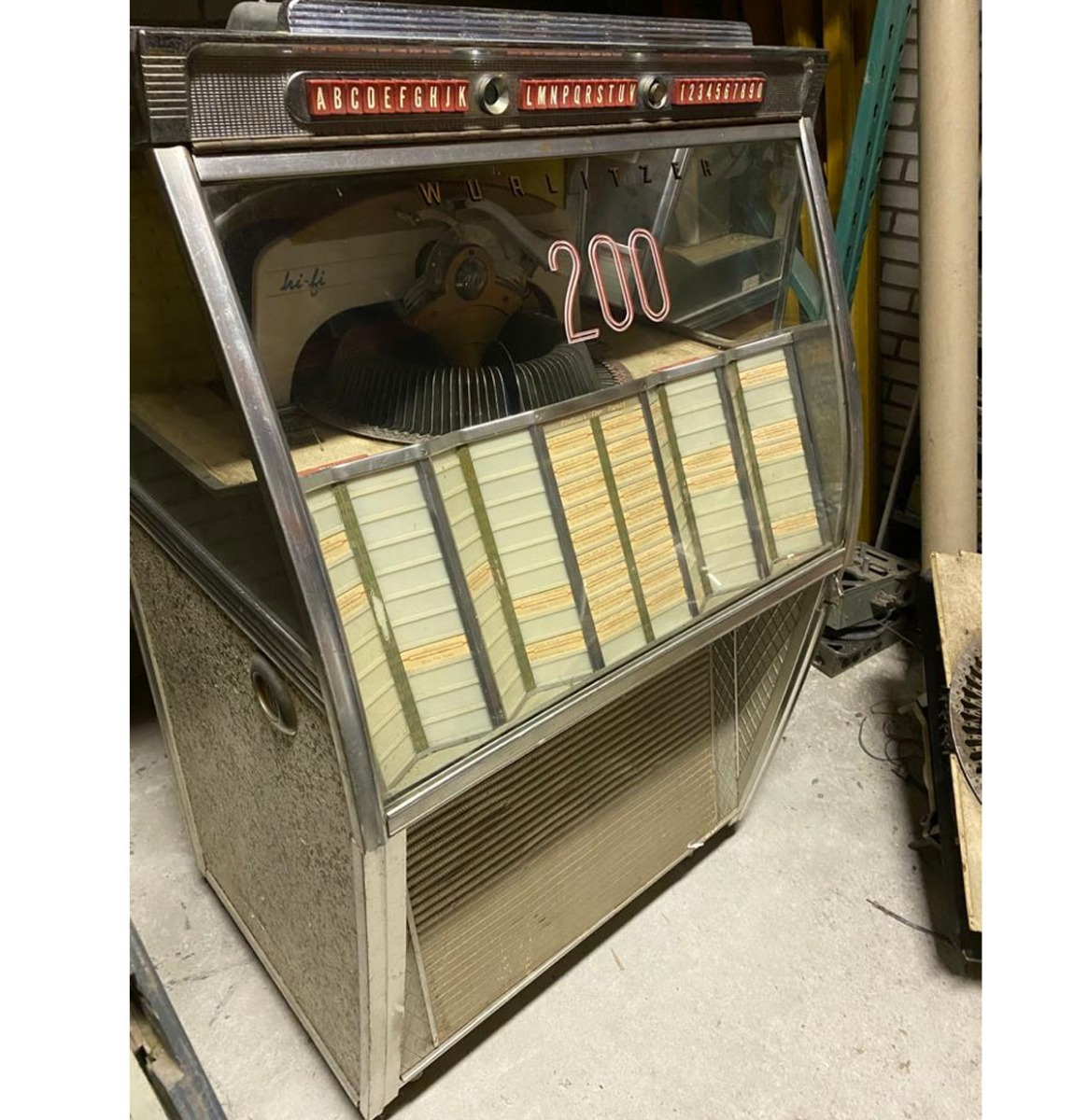 Wurlitzer 2150 Jukebox - Origineel