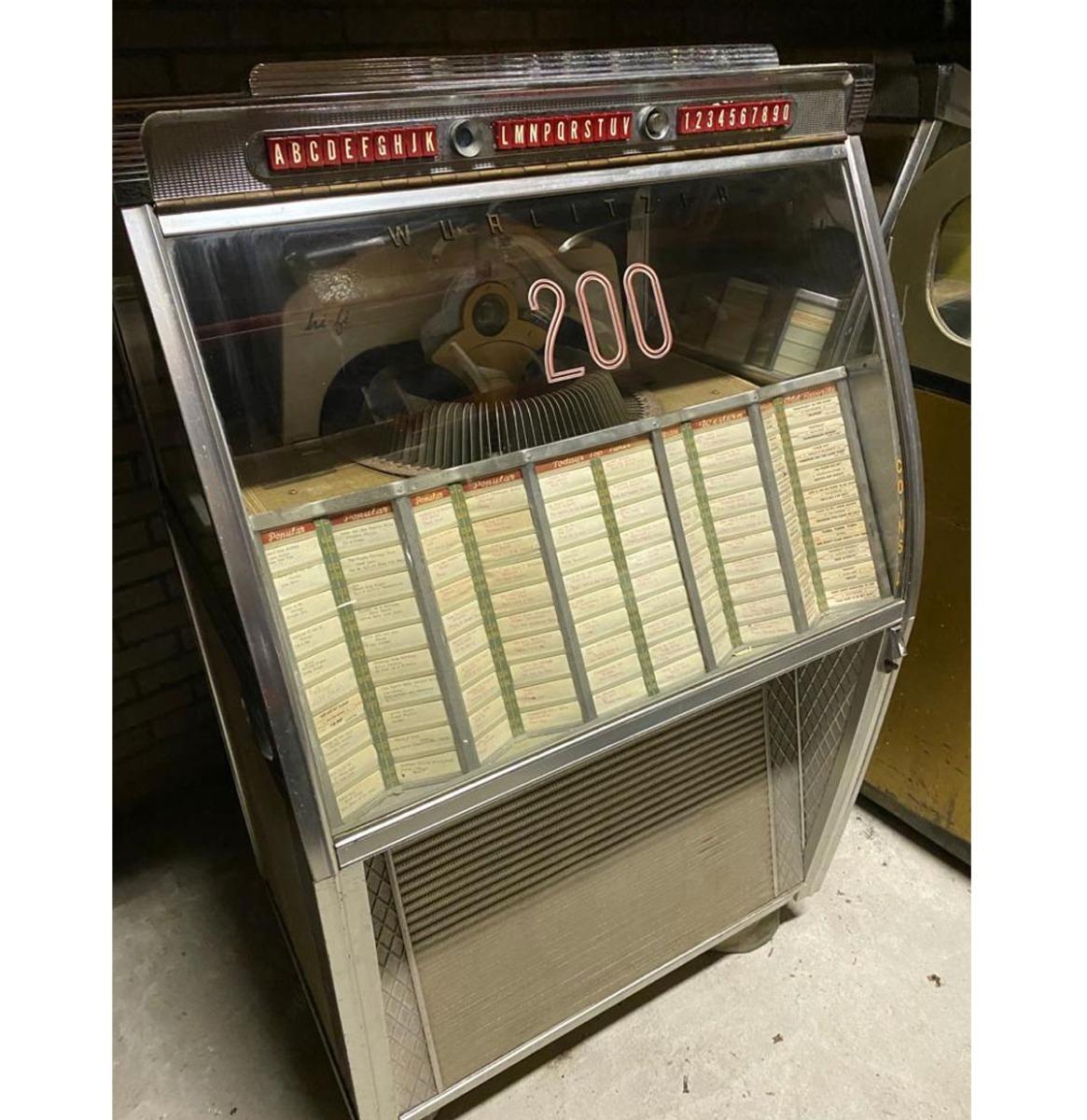 Wurlitzer Jukebox Model 2150 - Origineel