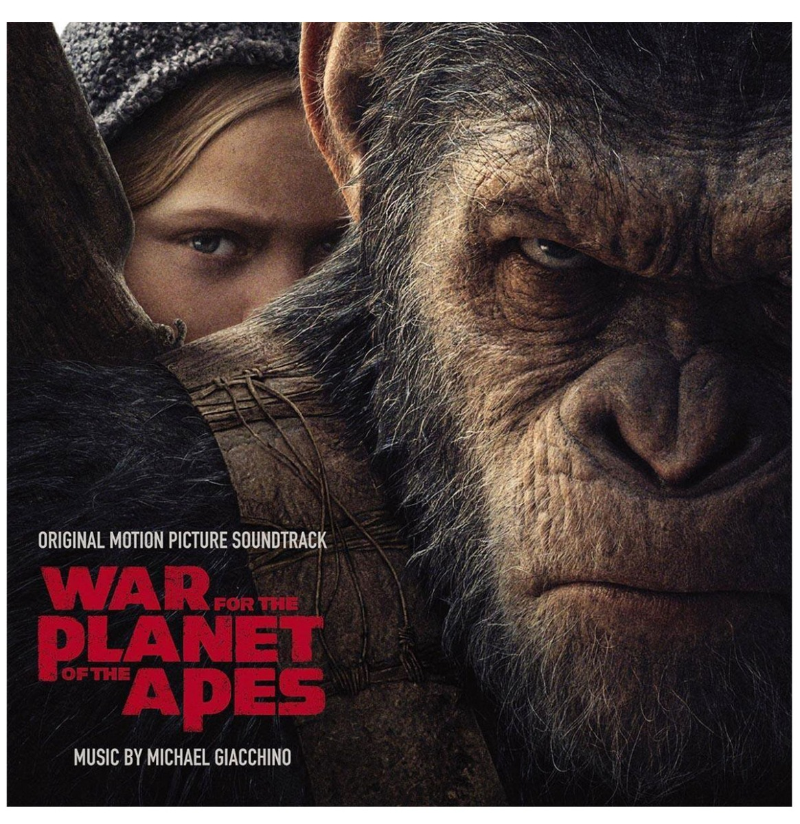 War for the Planet of the Apes Soundtrack Rood Vinyl 2LP