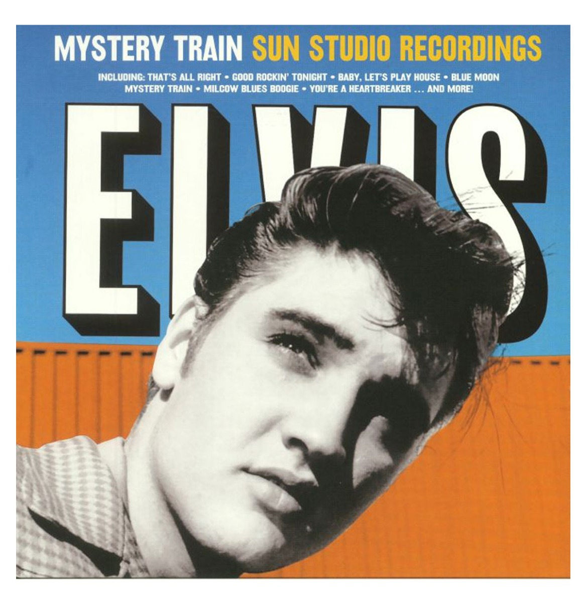 Elvis Presley - Mystery Train Sun Studio Recordings LP